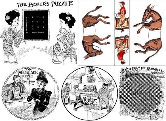 PUZZLES OF SAM LOYD by Will Shortz